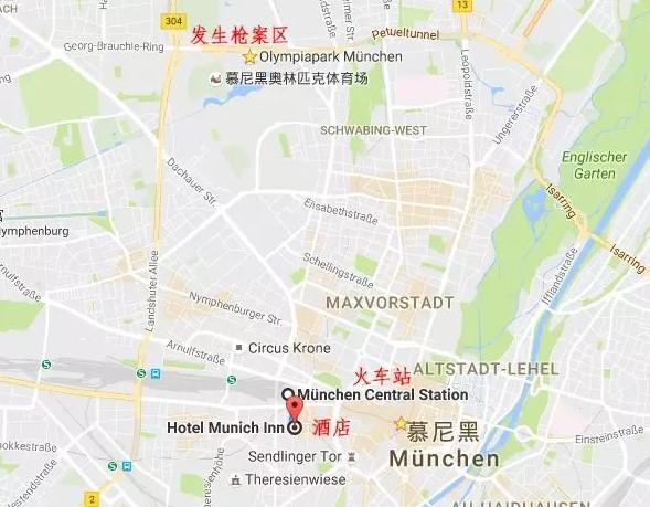 住处酒店地图