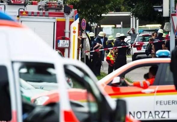 2016年7月22日德国慕尼黑奥林匹亚购物中心枪击案